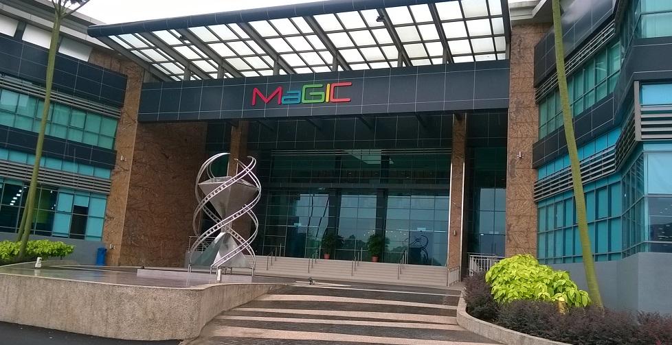 MaGIC building horizontal